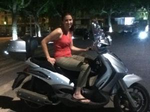 Vespa ride!