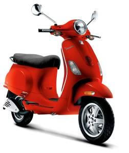 Red Vespa