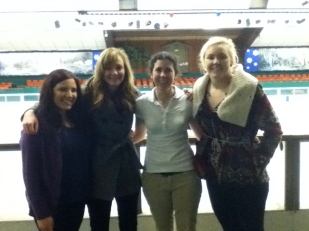 Sarabeth, Adrienne, me and Kelsey